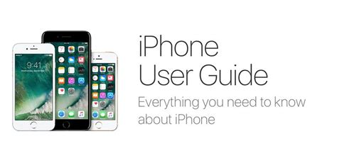 apple iphone user guide iphone user guides for every model