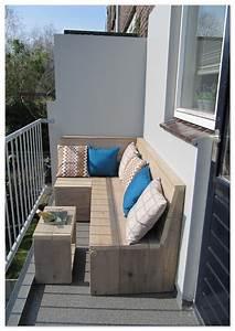 Bank Für Balkon : op een klein terras minder dan 1m diep kun je van een loungebank genieten een balkon ~ Eleganceandgraceweddings.com Haus und Dekorationen