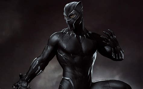 Wallpaper Black Panther, Concept Art, 5k, Creative