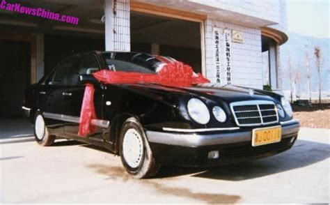 The First Geely Was A Fake Mercedes-benz E-class Based On