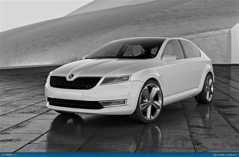 AUSmotive.com » Geneva 2011: Škoda's new logo and VisionD ...