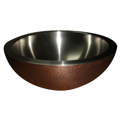 Copper Sink Hammered Copper Outside Nickel Inside C®c