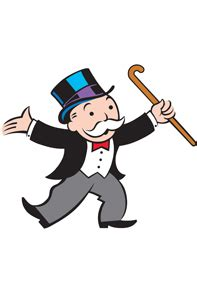 The Fictional 15, Mr. Monopoly
