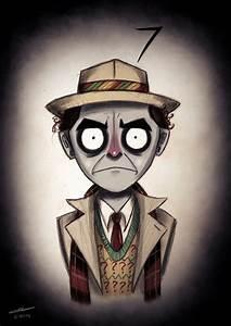 'Doctor Who Characters' Tim Burton Style - CROMEYELLOW.COM