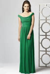 green bridesmaid dresses dessy style 2859 the shoulder green chiffon a line bridesmaid dress bridesmaid dresses