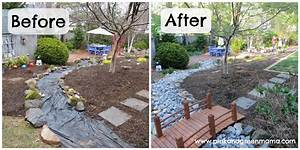 Diy Backyard Makeover Ideas Garden Design With Landscape ...