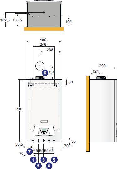 Kondensācijas katls MPX 24/28 MI Compact (3.8-28.0 D88814 | Akvedukts