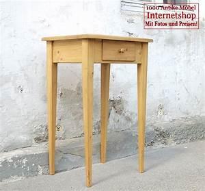 Kleiner Schreibtisch Mit Schublade : kleiner tisch mit schublade fichte alte antike bauernm bel internetverkauf ~ Markanthonyermac.com Haus und Dekorationen
