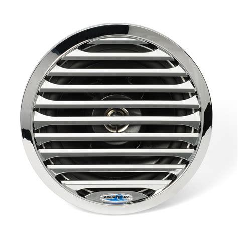 Boat Speakers Manual by 6 5 Quot Pro Series Chrome Marine Speaker Aq Spk6 5 4lc