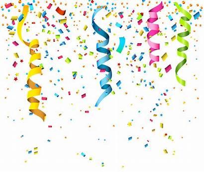 Confetti Transparent Birthday Clip Happy Confeti Clipart