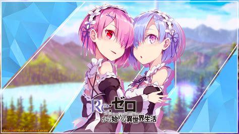 Anime Wallpaper Re Zero - rem re zero wallpaper 183 free cool hd backgrounds