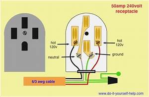 220v Outlet Wiring Diagram  With Images