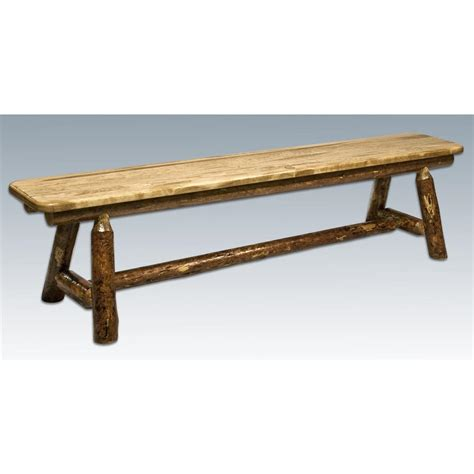Montana Woodworks® Glacier Country Plank  Style Bench
