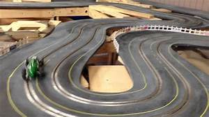Building A 1960 U0026 39 S Style Routed Wooden Slot Car Track
