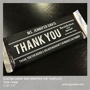 Printable custom candy bar wrapper pdf template print at for Personalized chocolate wrappers template