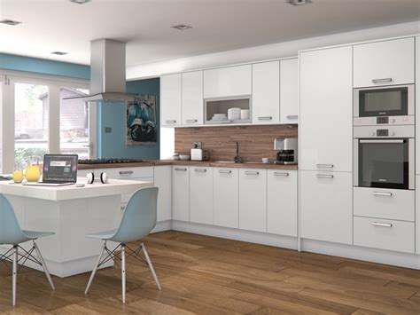 gloss or matt kitchen cabinets feature doors available for altino white 6868
