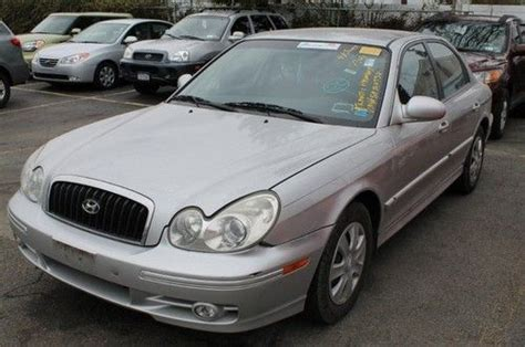 2005 Hyundai Sonata Gas Mileage by Sell Used 2005 Hyundai Sonata 4dr Sdn Gl At In Valley