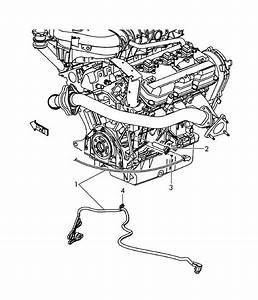 Volkswagen Routan Cord For Engine Block Heater  Block