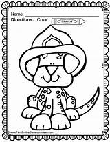Fire Coloring Pages Prevention sketch template