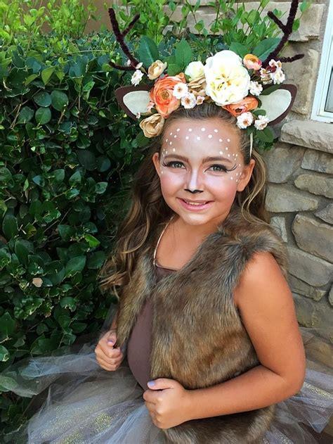 Bambi Kostüm Selber Machen Kinder Fellweste Geweih Selber
