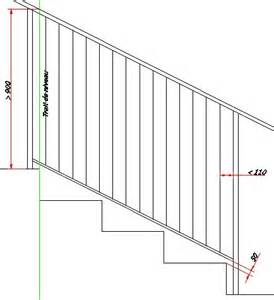 Norme Garde Corps Escalier Erp by Normes Garde Corps My Cms