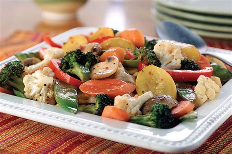 how to saute vegetables fresh saut 233 ed vegetables kraft recipes
