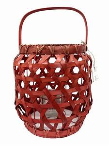 red rattan lantern candle holder chairish With kitchen cabinet trends 2018 combined with rattan candle holders