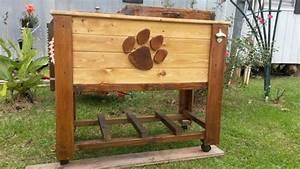 Clemson pallet cooler L&M Wood Creations Pinterest