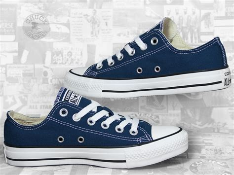 Converse Chuck Taylor All Star Ox Navy / Blau   SnuckStore.de