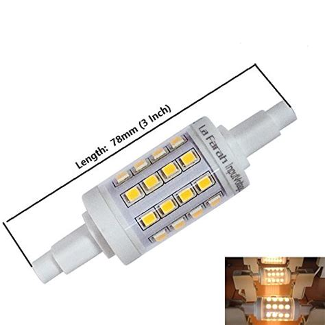 la farah r7s led bulb 118mm 10 watt 120v warm white 3000k