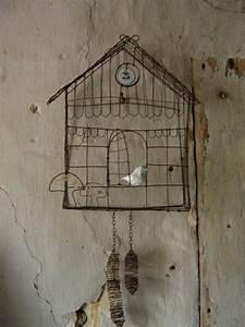 Vogelkäfig Selber Bauen : kuckusuhr sch ne ideen pinterest draht bastelideen ~ Lizthompson.info Haus und Dekorationen