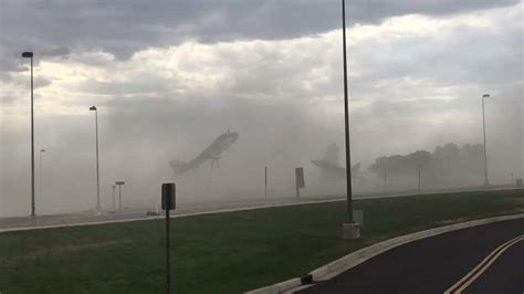 storms whip  dust  grand junction colorado  news