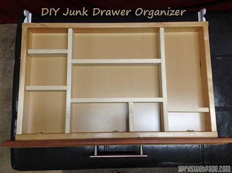 ana white diy junk drawer organizer diy projects