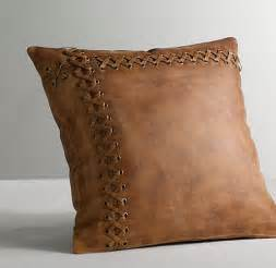 leather catcher s mitt decorative pillow cover insert