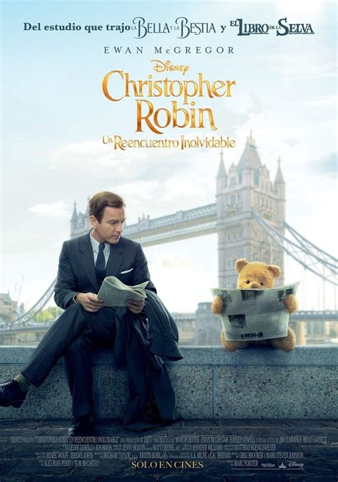 Adorable Character Posters For Christopher Robin Feature