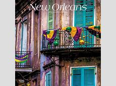 New Orleans 2019 12 x 12 Inch Monthly Square Wall Calendar