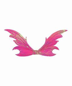 Adult Tattered Fairy Wings Opal Pink - Halloween Costumes