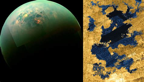 Titan S by Saturn S Moon Titan Universe Today