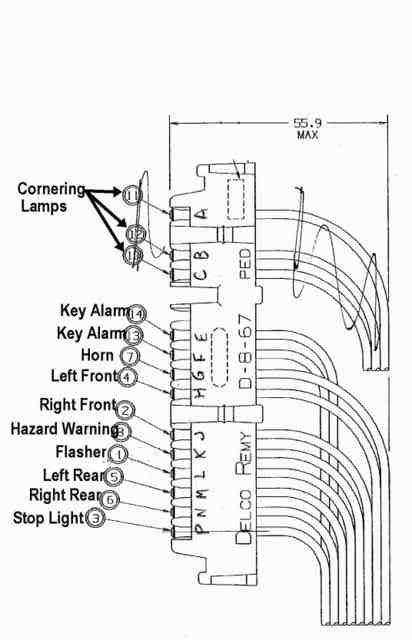 Horn Wiring From Steering Column Corvetteforum