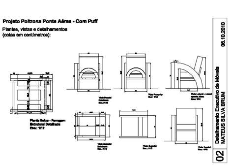 Poltrona Patchwork Com Puff : Poltrona Ponte Aérea Com Puff-layout1 (2