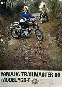 Vintage Dealer Sales Brochure For Yamaha Yg5 T Trailmaster