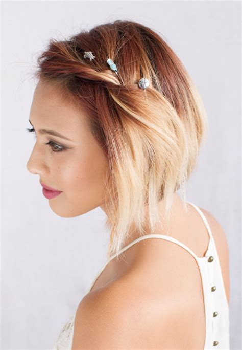 21 Most Attractive Hairstyles with Hair Pins Haircuts