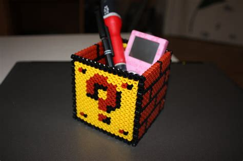 pot a crayons mario by justarentul on deviantart