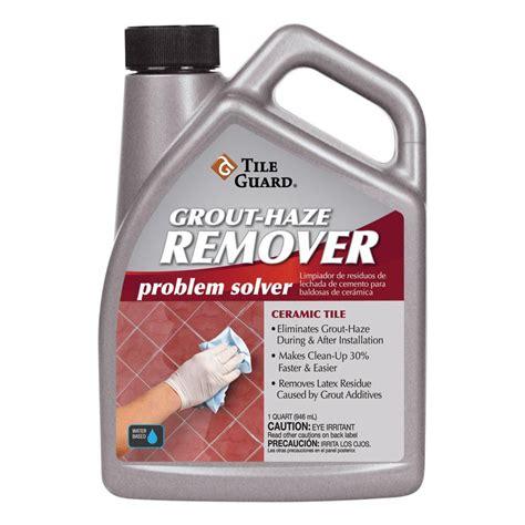 shop tile guard 1 quart grout haze remover at lowes com