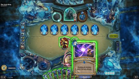 Mage Hearthstone Deck Lich King by Priest Against The Lich King Hearthstone Decks