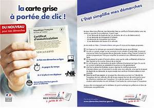 Carte Grise Changement Adresse Gratuit : immatriculation vehicules ~ Gottalentnigeria.com Avis de Voitures