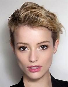 Coupe Courte Bouclée : coiffure courte pour femme t 2016 les plus belles ~ Farleysfitness.com Idées de Décoration