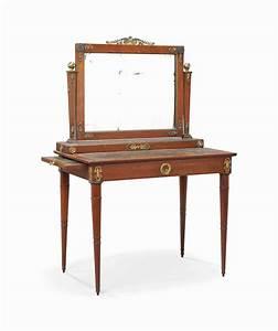 Miroir De Coiffeuse : table et miroir de coiffeuse de style empire vers 1900 christie 39 s ~ Teatrodelosmanantiales.com Idées de Décoration