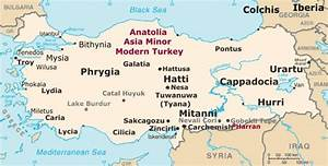 Anatolia Map (Asia Minor) Turkey Map History, Facts ...