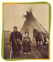 indios pies negros tribu de las praderas